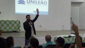 Diego Artur, o professor da UNILEÃO (Foto: Daniela Lima)