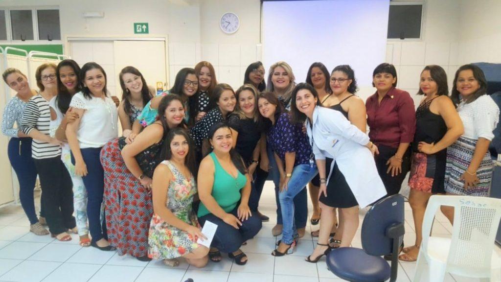 Parceria FAJI-SENAC-AMI conclui curso de depilação com 19 participantes