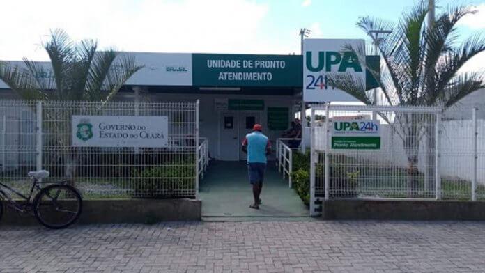Homem é preso após quebrar porta da UPA de Iguatu
